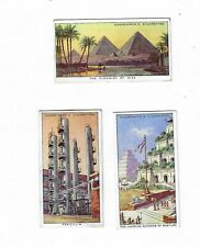 Churchman Cigarette cards 1955 full set (un-issued) World Wonders Old & New
