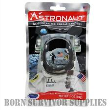 ASTRONAUT FREEZE-DRIED SPACE ICE CREAM SANDWICH Food Ration Pack Snack Gift MRE
