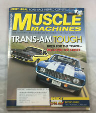 Trans-Am Can Am Ponitiac 1977 August 2007  Hemmings Muscle Machines Magazine