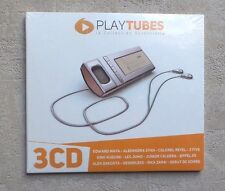 CD AUDIO MUSIQUE / PLAY TUBES  3XCD COMPILATION DIGISLEEVE NEUF 2012
