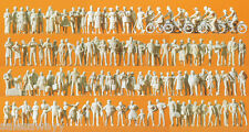 Preiser 16337 Passenger and Passers-by 120 U.120 Unpainted Figures, H0