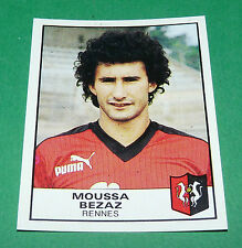 N°241 MOUSSA BEZAZ RENNES STADE RENNAIS FC PANINI FOOTBALL 84 1983-1984