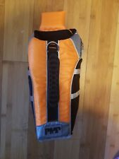PMP Pet Life Floatation Vest - Small - Orange Padded Adjustable Swimming Dog Pup