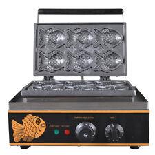 Electric Korea Fish Waffle Maker Electrothermal Snack Baking machine 220V New Y