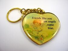 Collectible Keychain: Friends Like You are Angels Come True