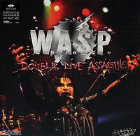 W.A.S.P. (WASP) - DOUBLE LIVE ASSASSINS, 2017 EU vinyl 2LP, 1ST TIME ON VINYL!