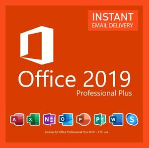 ✔️MS®Office PRO 2019✔️ PLUS 32/64 BIT ✔️PROFESSIONAL✔️Vollversion✔️❄️