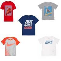 New Nike Little Boy's Dri-FIT Graphic T-Shirt SIZE 4,5,6,7 Pick Color & Size