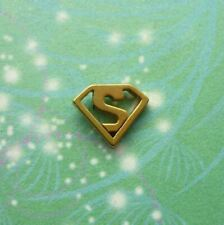 Super Charm for Floating Lockets - Stainless Steel -Blue, Black, Gold or Silver