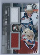 15-16 ITG Final Vault 12-13 Heroes and Prospects Comrie/Price Jersey Card 1/1