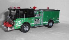 VERY RARE  Code 3 Luverne Pumper - Chicago St. Pat's Special Fire Truck