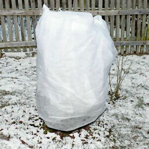 2mx10m 60gsm Frost Protection Fleece Horticultural Plant Garden Tree Warming UK