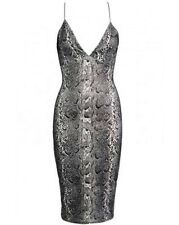 CB Celeb Inspired Party Sexy Snake Shimmer Summer Dress Size 8 LAST ONE LEFT!