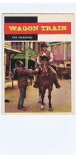 Topps 1958 Western TV Card #48, Wagon Train, NRMT- vintage non-sport card