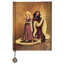 Disney Store Fairytale Designer Collection Rapunzel and Mother Gothel Journal