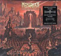 MEMORIAM - THE SILENT VIGIL (+1 Bonus)(2018) CD Digipak by Soyuz Music+FREE GIFT