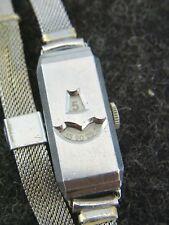 schöne alte Armbanduhr Handaufzug / Digital Art Deko vermutlich valjoux