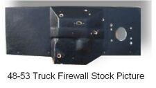 1935 1938 Dodge Truck 2Nd Series Flat Firewall Pad