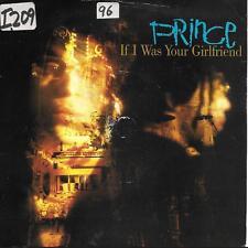 "Prince If I Was Your Girlfriend UK 45 7"" single +Picture Sleeve +Shockadelica"
