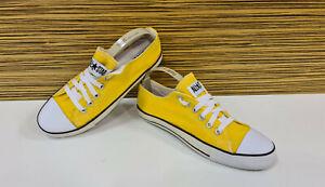 CONVERSE All Star OX Yellow Gelb Chucks Schuhe Sneaker 7,5 = 41