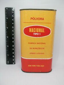tin of gunpowder, from NACIONAL Chelas FNMAL Portugal ## RARE model