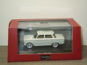 1961 Fiat 1500 - Starline 1:43 in Box *49867