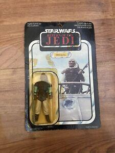 Vintage Star Wars Weequay In Box 1983(original Not Recarded)