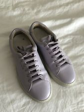 Axel Arigato Leather Tennis Shoes In Lilac Size 37
