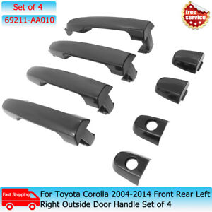 For Toyota Corolla 2004-2014 Front Rear Left Right Outside Door Handle Set of 4