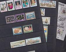 Isle of Man 1992-93 Mint MNH Full Sets Stamps Nature Regiment Ship Mountain TT