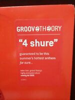 """Groove Theory – 4 Shure - Format: Vinyl, 12"""", Promo, 33 ⅓ RPM"""