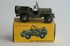 Dinky Toys No 80b Hotchkiss-Willy's Jeep - Meccano - France - Boxed