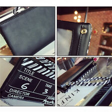 Film NG Board Clutch Wrist Pouch Phone Card Wallet Card Holder Mini Bag Shan