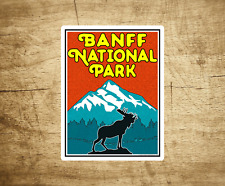 "Banff National Park Alberta Canada Sticker Decal 4"" x 3"""
