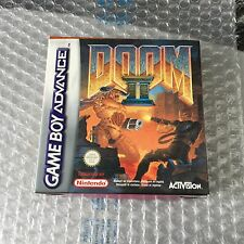 Vintage#ACTIVISION DOOM 2 II  Nintendo Game Boy Advance# PAL NIB