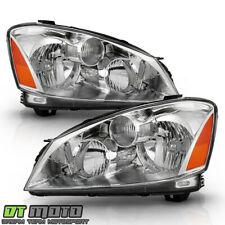 For 2005 2006 Altima Halogen Headlights Replacement Headlamps 05-06 Left+Right