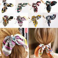 pour cheveux des perles de la corde attache cheveux bowknot ruban chouchous