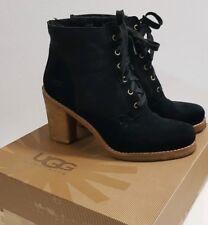 UGG Sofia Leder 41 Lammfell Boots Absatz Stiefel Bottes Schuhe Blogger UVP289€