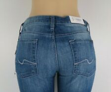 NWT 7 SEVEN FOR ALL MANKIND, Roxanne/Classic Skinny, BRSB, Size 28, $178