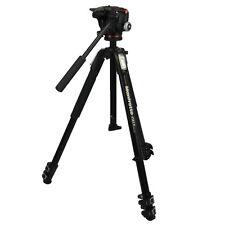 Manfrotto trípode fotográfico 190x serie kit de aluminio con 2-caminos-fotográfica mhxpro-2w max. 4kg