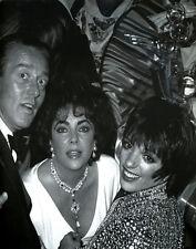 Halston Elizabeth Taylor Liza Minnelli Studio 54  Print 11 x 14  #3850