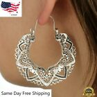 Внешний вид - Elegant 925 Silver Hoop Earring for Women Jewelry Free Shipping A Pair/set