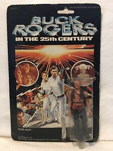 Buck Rogers In The 25th Century TIGER Man 1979 MEGO Sealed Card Vintage