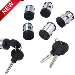 Door Lock Barrel Set 5 &2 Keys For Fiat Scudo Peugeot Expert Citroen Dispatch UK