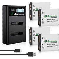 NP-45A NP-45 Battery + Charger For Fujifilm FinePix XP20 XP30 XP50 XP60 EN-EL10