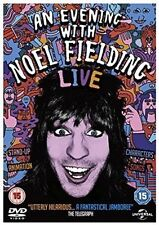 an Evening With Noel Fielding DVD 2015 50p