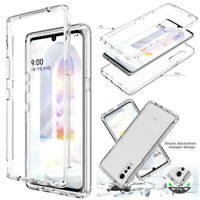 For LG Velvet 5G Phone Case Clear Hybrid Shockproof Slim Armor Bumper Hard Cover