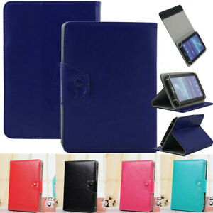 """For Dragon Touch Max10 K10 10.1"""" Universal Fold Leather Case Stand Cover Elastic"""
