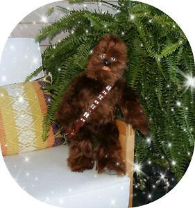 "Disney Store Star Wars Chewbacca Plush Stuffed Animal Toy 18"""