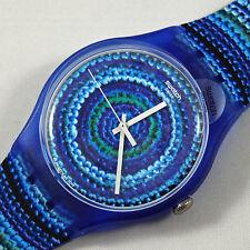 swatch new gent centrino suos104 orologio uomo donna blu nuovo da collezione